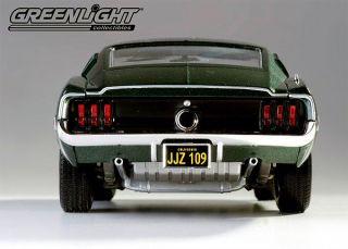 Greenlight 1968 Ford Mustang Bullitt Steve McQueen 1 18