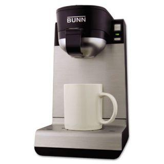 Bunn MC My Cafe Single Serve Pod Brewer, Black/stainless Steel