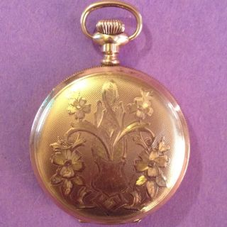 Buren Watch Co Imperial Pocket Watch Swiss Gold Filled