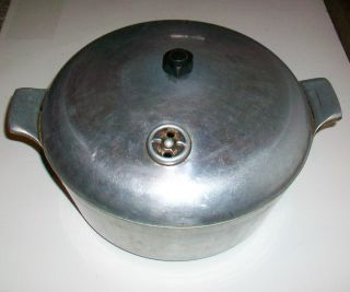 Vintage Burnette Casting Co Pan American Aluminum Dutch Oven Cookware