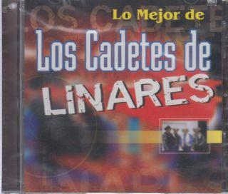 Los Cadetes de Linares CD New Lo Mejor Album Con 14 Canciones