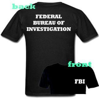 US FBI Federal Bureau of Investigation Shirt Cool Tees