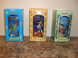 Walt Disney Collector Series Cups Burger King Jungle Book, Peter Pan