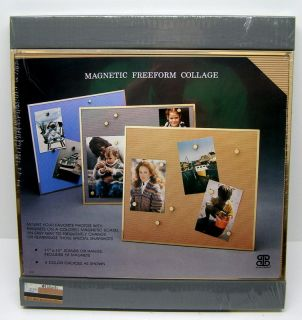 NEW BURNES MAGNETIC FREEFORM COLLAGE PHOTO PICTURE FRAME 11x13 (3