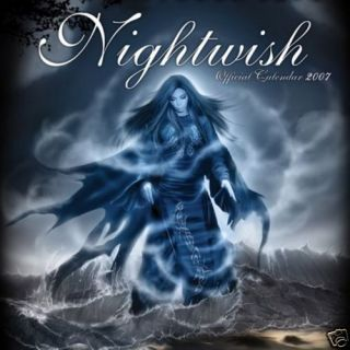New Nightwish 2007 Official Calendar Gothic Fantasy Art