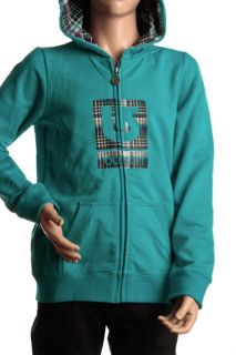 Burton Girls Logo Fill Full Zip Jacket Size M 8 10 Galaxy