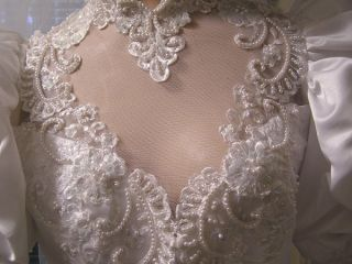 CINDERELLA SOUTHERN BELLE STYLE MOONLIGHT STUNNING WEDDING GOWN A MUST