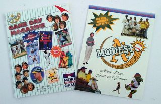Modesto As Game Day Magazine Publications Oakland As Timothy Busfield