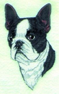 Boston Terrier Dog Tote Bag Breed Black Puppy New