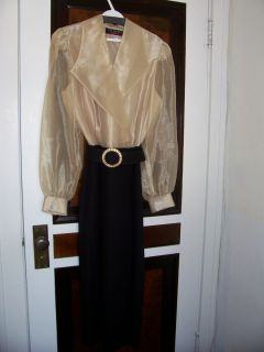 CALIENDO MOTHER OF THE BRIDE DRESS OR FORMAL OCCASION SIZE 12 GREAT