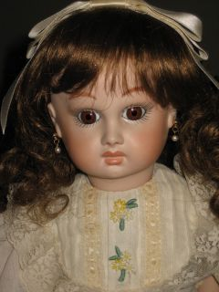 Byron Antique Reproduction Depose Jointed Bisque Doll