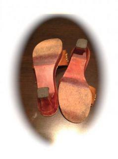 Calleen Cordero Size 7 Brown Leather Heels Calleen Cordero Size 7