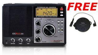 Crane CCRadio Shortwave AM FM SW Radio + Long Wire Antenna NEW