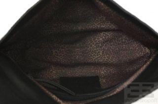 Theodora Callum Brown Animal Print Pony Hair Diane Clutch New $635