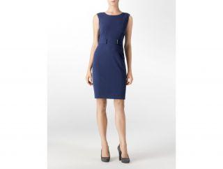 Calvin Klein Womens Belted Shift Dress