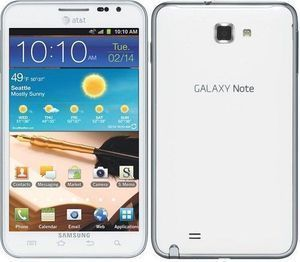 Samsung Galaxy Note LTE SGH i717 16GB Ceramic White at T Smartphone