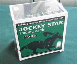 1998 Horse Racing Jockeys Guild Star Trading Cards 220 Complete Set