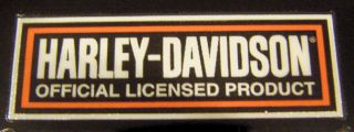 Harley Davidson Pin Stripe Sticker Emblem Decal Tank Ad