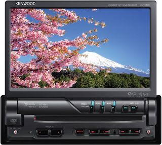 Kenwood KVT 516 7 Touchscreen Flip CD MP3 USB DVD Player