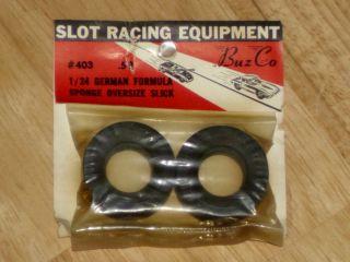 Buz Co Racing Slicks 403 1 24 Scale Slot Car Vintage