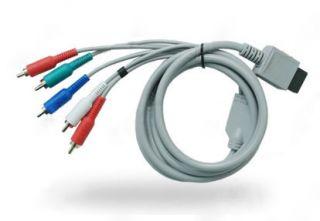 description hd component av tv video cable for nintendo wii