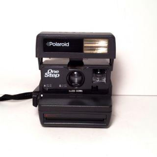 Polaroid One Step Close Up 600 Film Instant Camera Flash