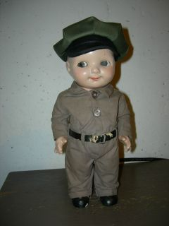 Vintage Buddy Lee Doll Station Attendant Uniform