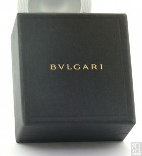 Bulgari Heavy Platinum 18K Gold Fancy 3 Piece Octagonal Band Ring Set