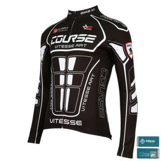 Bike on Cycling Bicycle Mens Jersey JB 518 Titan Black