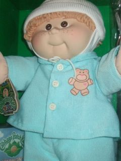 CABBAGE PATCH KIDS 25TH ANNIVERSARY BOY DOLL DALLAS GRADY WITH