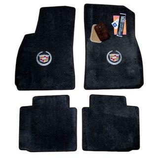 2013 Cadillac XS Floor Mas Licensed Cres Logo Ebony Black or Shale