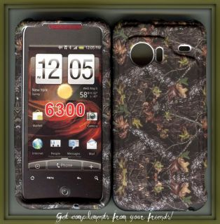 HTC Droid Incredible 6300 phone cover hard case cover camo camo stem