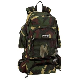 Invisible® Pattern Water Repellent Heavy Duty Camo Backpack