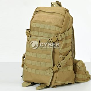 Tactical MOLLE Camouflage Backpack Shoulders Outdoor Sports Camping