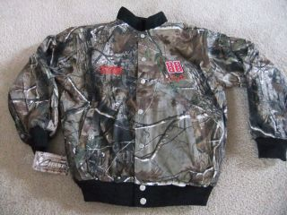 88 Dale Earnhardt Jr Chase Real Tree Camo and Black Reversible Jacket