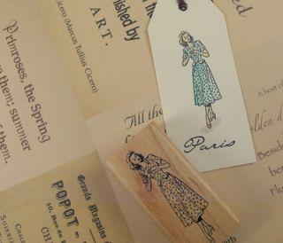 Decorative Stamps Rubber Stamp_Julie Andrews