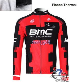2013 Cycling Bicycle Bike Thermal Fleece Long Sleeves Jersey Size s