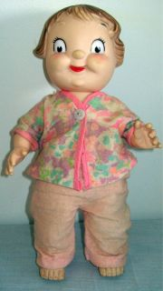 Vintage Collectible Campbells Soup Kid Girl Doll