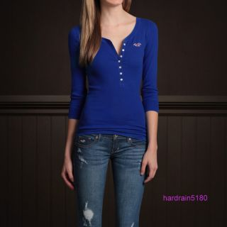 2012 Hollister by Abercrombie Womens Calabasas Tee