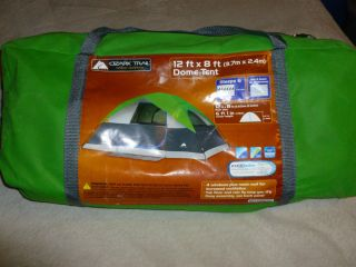 ... Ozark Trail 12 x 8 6 Person Family Dome C&ing Tent ... & new coleman ara 6 man dome camping family tent 10x9
