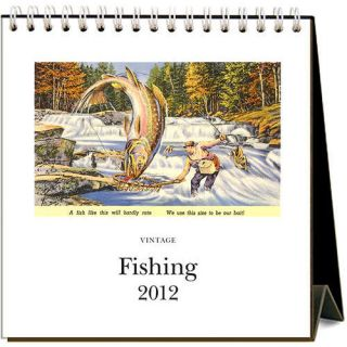 product description fishing 2012 easel desk calendar this is a 2012