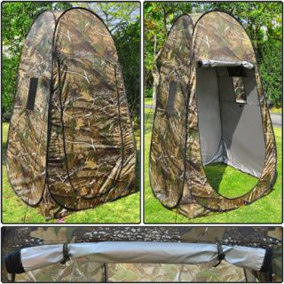 Outdoor Portable Changing Tent Camp Toilet Pop Up Room Privacy w/ Bag