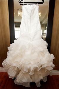 Pronovias San Patrick Candor Ivory Wedding Dress Gown 8