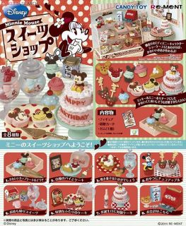 Miniature Mickey Minnie Mouse Birthday Cake Candy Full Set