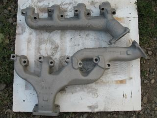 6 5L Turbo Diesel Exhaust Manifolds 6 5 GMC Chevy