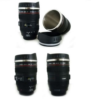 Canon 24 105mm Lens Mug Tea Coffee Cup Stainless for Photography Fan