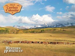 New Western Horseman Horse Cowboy 2012 Wall Calendar