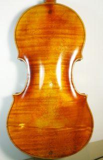 Old Violin Labeled Camillus de Camilli Faecit in Mantova 1781