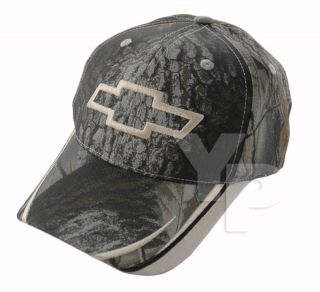 Chevrolet Chevy Bowtie Bow Tie Logo Emblem RealTree Real Tree Camo Hat