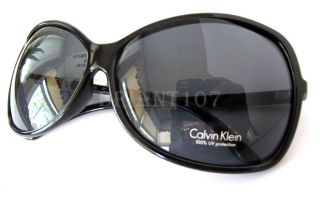 Calvin Klein Womens Sunglasses R596S Black Gray $72 00